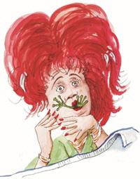 Lotte Mackarelli hatte einen Frosch im Hals