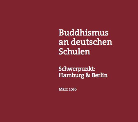 Bericht 2016: Buddhismus an Schulen
